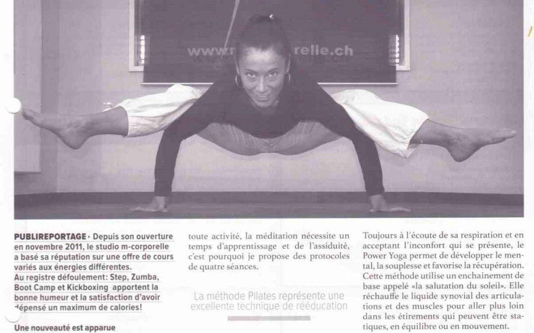 Publireportage Gland Cité – Décembre 2014